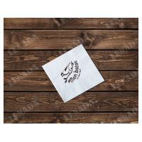 Салфетки с вашим логотипом Товары и услуги компании